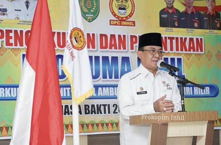 HM Wardan Hadiri Pelantikan DPC PUMA Nusantara Inhil(2021/2026)