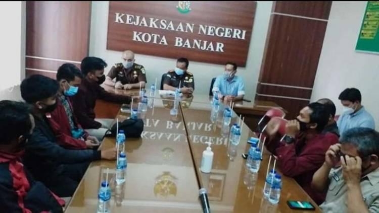 IMM Kota Banjar Tuntut Penegak Hukum tidak Berlaku Kasar ke HRS