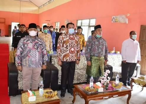 Setda Yusri M.Si Hadiri Pelantikan Pengurus Ikatan Pelajar Mahasiswa Kenegrian Kampa (IPMKK)