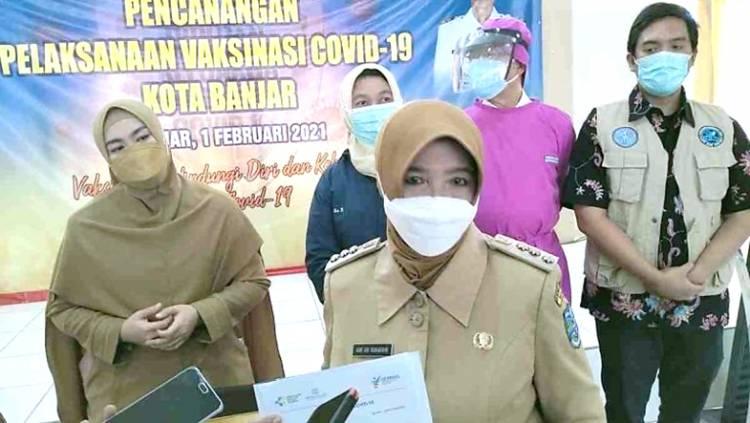 Walikota Banjar Ajak Masyarakat Sukseskan Vaksinasi dan Jangan Takut untuk Divaksin