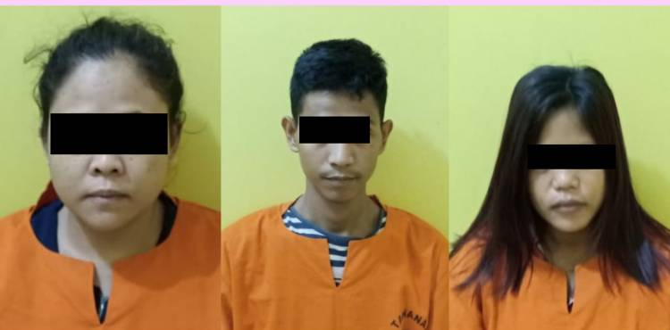 Terkait Sabu, 2 Wanita dan 1 Pria Diringkus Polisi