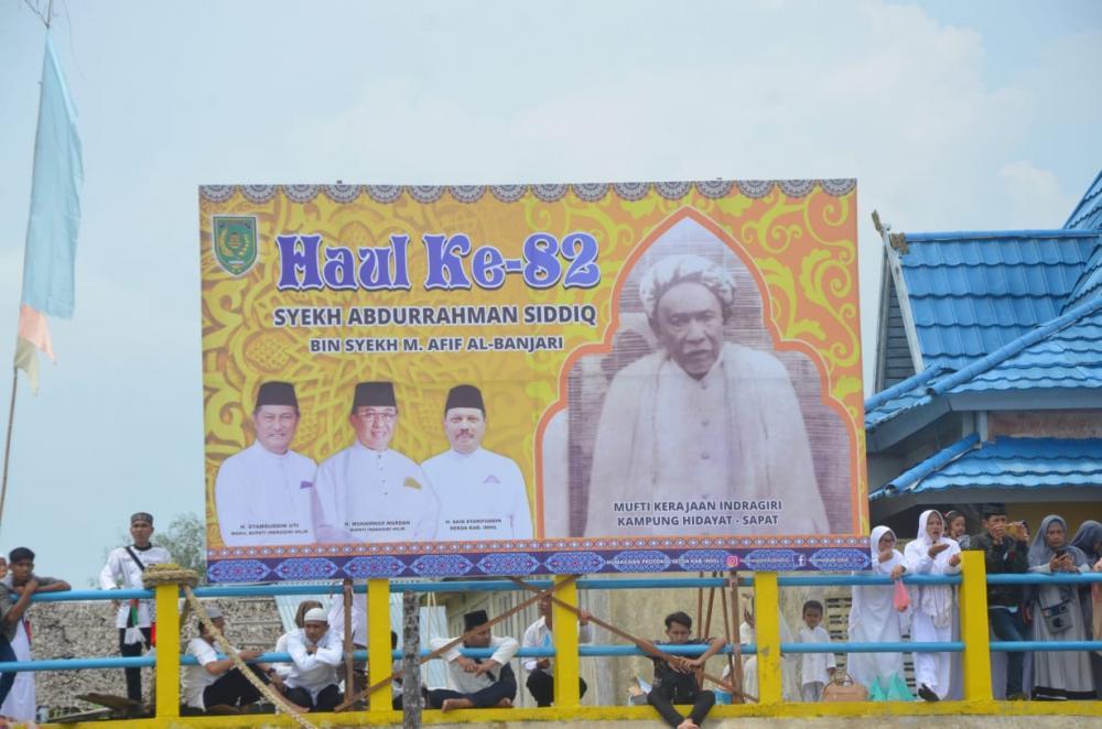 Bupati Inhil Bersama Wakil Gubernur Riau Hadiri Haul Syekh Abdurrahman Siddiq Al-Banjari Ke-82