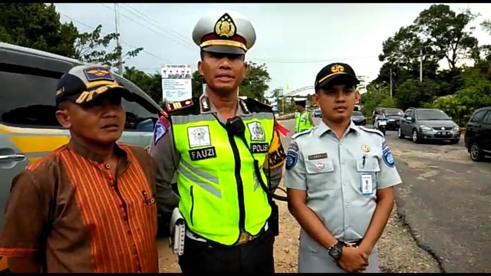 Forum LLAJ Kampar Survey Daerah Rawan Laka dan Macet di Jalan Lintas Pekanbaru -Bangkinang