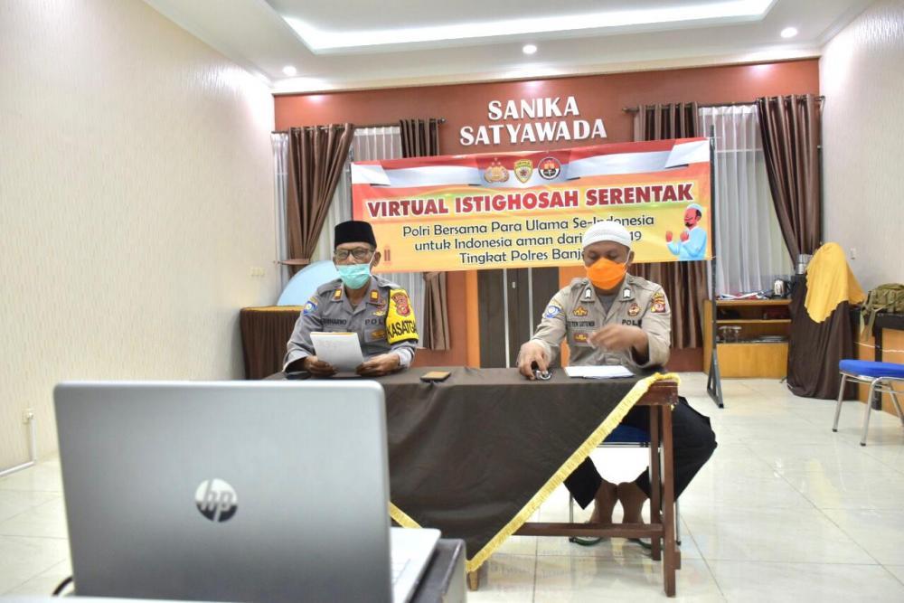 Himbauan Untuk Anggota Polri se-Indonesia Untuk Menggelar Istighosah Serentak