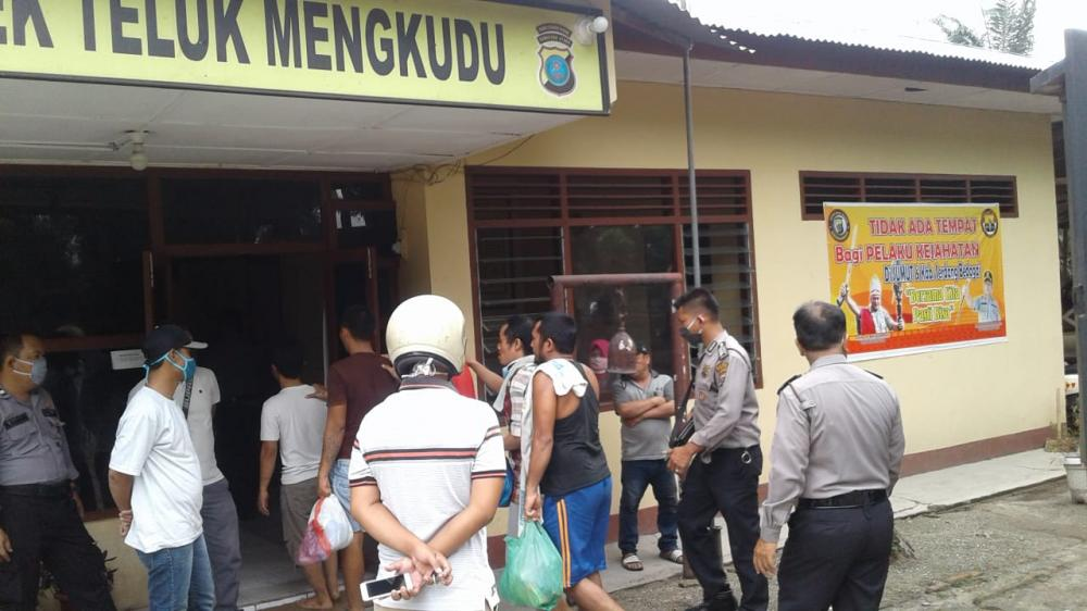 13 Tahanan Polres Dititipkan Ke RTP Polsek