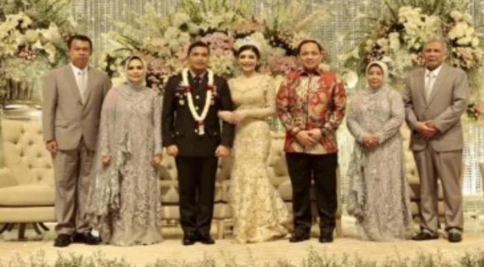 Pernikahan Mega Mantan Kapolsek Kembangan Di Hadiri Waka Polri