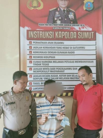 Seminggu Jadi Pengedar Sabu,  Warga Dolok Masihul Ditangkap Polisi