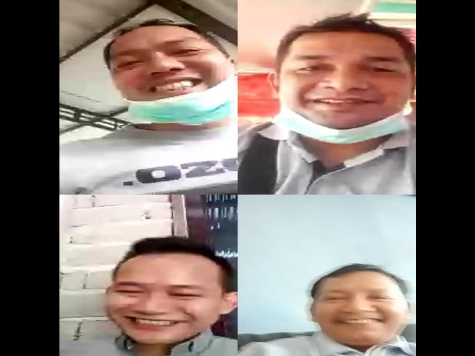 Pekanbaru Zona Merah Covid-19, Ketua PW IWO Riau Ingatkan Soal Pemberitaan Melalui VC WAG