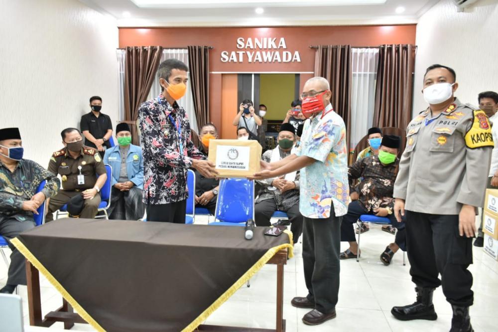 Pemkot Banjar bersama Forkopimda Kota Banjar Buat Maklumat Bersama