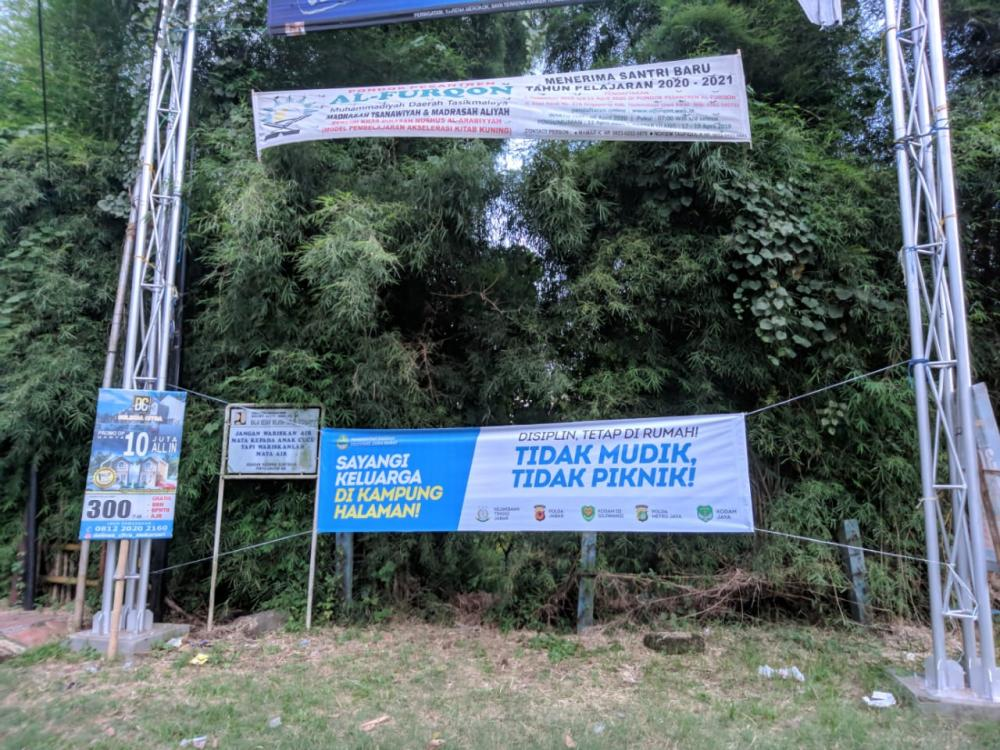 Polres Banjar Berikan Sosialisasi dan Penyuluhan Kepada Masyarakat Terkait Pencegahan Covid-19