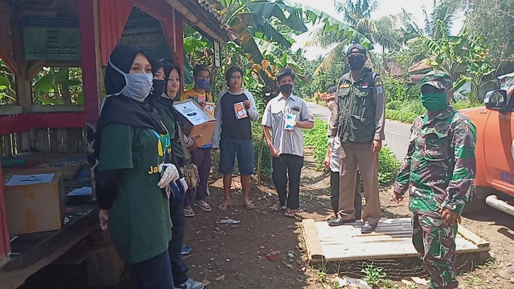 Jabar Bergerak Kembali Salurkan Bantuan Untuk Pandemi Covid-19