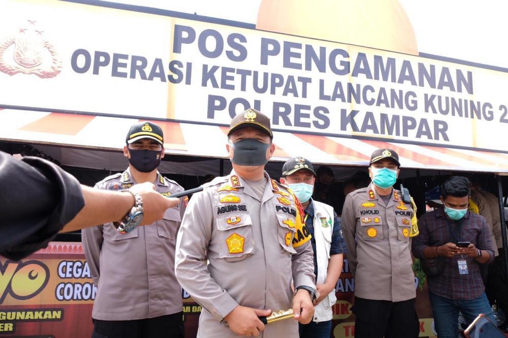 Polda Riau Tidak Akan Memberi Ruang Kepada Masyarakat yang Melaksanakan Mudik
