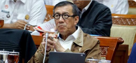 Menteri Hukum dan HAM Yasonna Laoly Usulkan Napi Korupsi 300 Orang Bebas Diatas Umur 60 Tahun