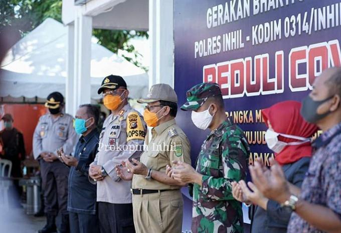 HM.Wardan Salurkan Bantuan Kepada Masyarakat, Ajak Semua Pihak Ikut Ambil Peduli Dampak Covid-19.