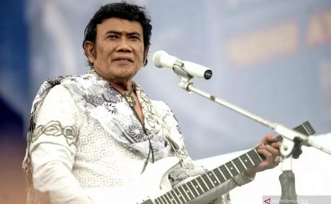 """Raja Dangdut Rhoma Irama Ciptakan Lagu Judul """"Virus Corona"""""""
