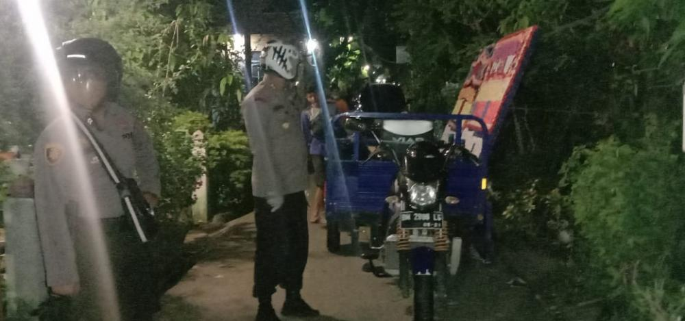 Kapolres Inhil,Distribusikan Bantuan Sembako Kepada Keluarga Duka Yang Meninggal di RSUD PH Tembilahan