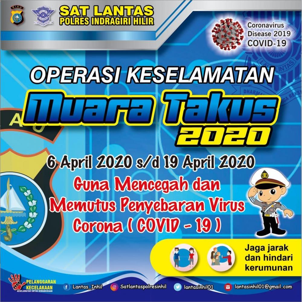 Mulai Hari Ini Tanggal 6 April Sampai Dengan 19 April ,Akan di Mulai Operasi Keselamatan Muara Takus 2020
