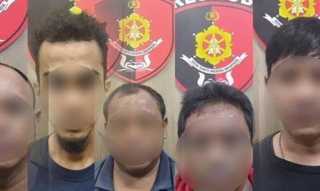Lima Tersangka Pengeroyok Anggota TNI dan Polri Ditangkap,2 Buron