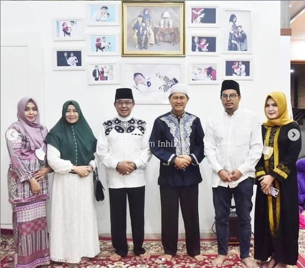 Wakil Bupati H.Syamsuddin Uti Laksanakan Haul Keluarga dan Do'a Selamat Menyambut Bulan Suci Ramadhan