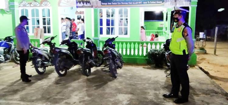 Cegah Curanmor, Polisi Patroli ke Mesjid dan Musholla Saat Berlangsungnya Shalat Tarawih