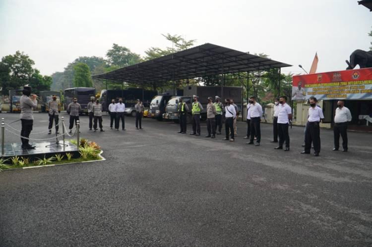 Kapolres Banjar Pimpin Apel dalam Rangka Operasi Pekat Tahun 2021