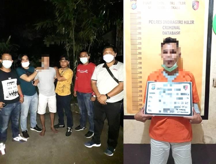 Satu lagi Terduga Pelaku Kasus Penahanan Kapal Tongkang PT. THIP Berhasil Diamankan Polres Inhil