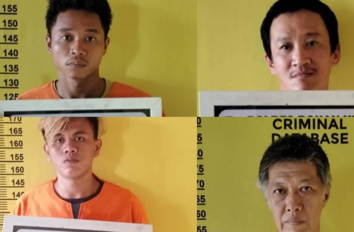 Sat Narkoba Polres Rohil Bekuk Residivis Pengedar Sabu
