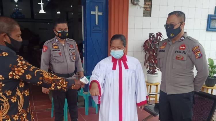 Paskah Minggu Kedua, Polsek Bagan Sinembah Gelar Pengamanan di 5 Gereja