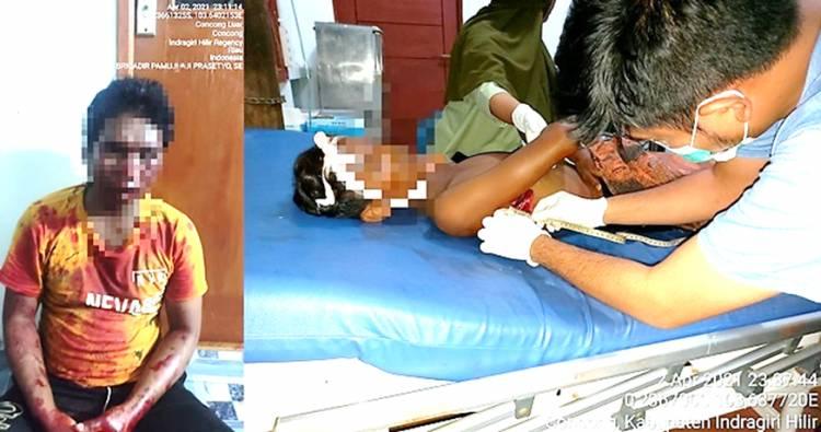 Remaja di Inhil Meninggal Dikoyak Amukan Pisau sang Paman yang Cekcok dengan Istrinya