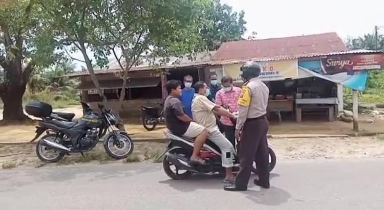 Cegah dan Tekan Kasus Covid-19, Polsek Bagan Sinembah Dirikan 3 Posko PPKM