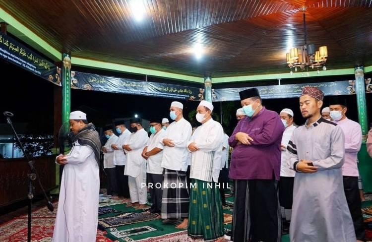 Bupati Inhil HM Wardan Mengajak Umat Muslim Dirikan Shalat di Waktu Malam Ramadan
