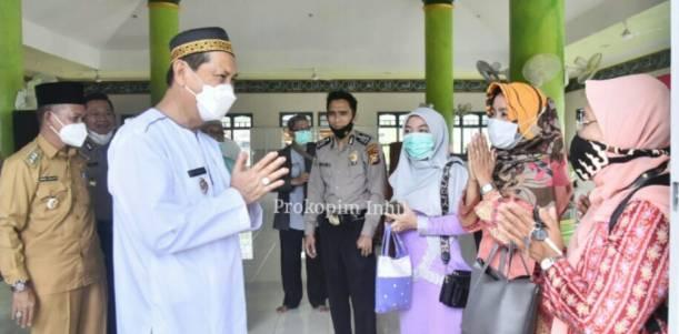 Wakil Bupati H Syamsuddin Uti Safari Ramadhan Ke kecamatan Tembilahan Hulu