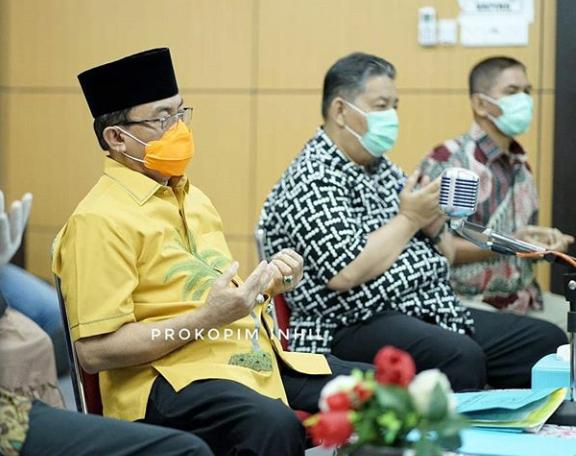 Gubernur Riau Resmikan 7 Desa Balistrik Melalui Vidcon,5 Desa Ada Di Kabupaten Inhil