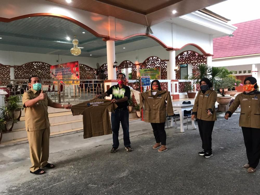 Bupati Rohul, H Sukiman apresiasi  sikap kebersamaan PD IWO Rohul