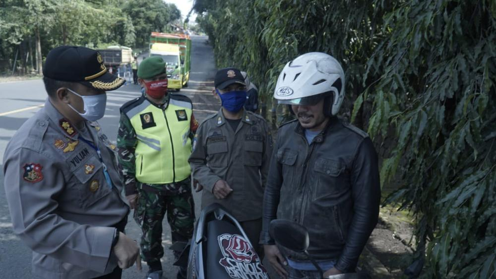 Penerapan Hari Kedua PSBB Kota Banjar Masih Banyak Warga Yang Tidak Mengindahkan Himbauan Pemerintah