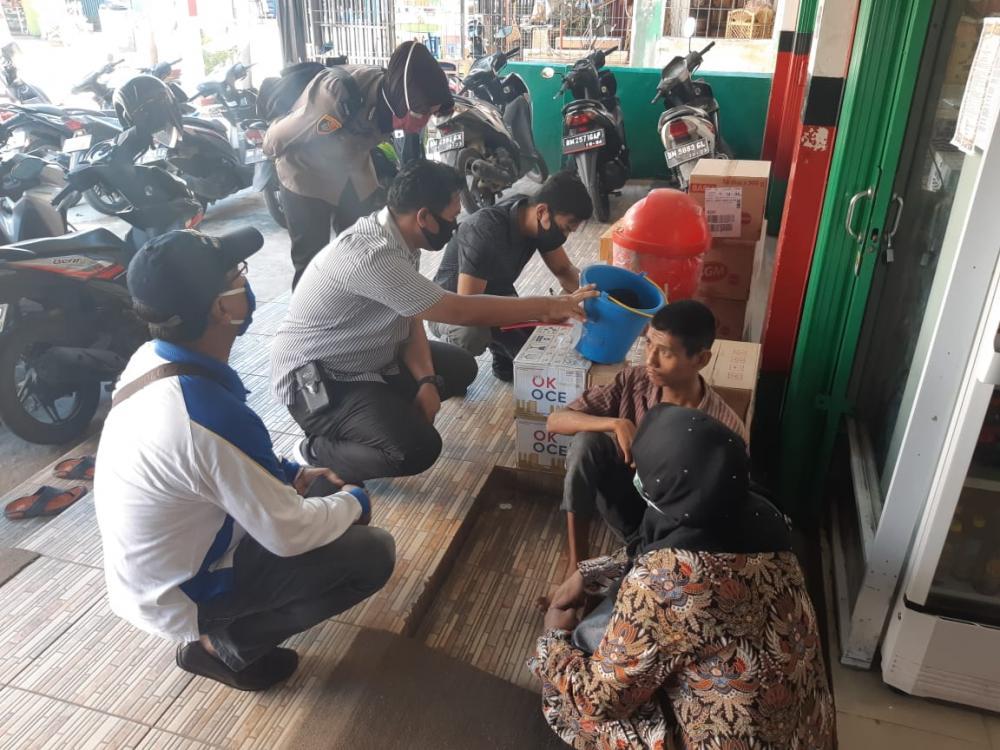 Kapolres Inhil Survei Lokasi Penampungan dan Lakukan Pendataan Tunawisma