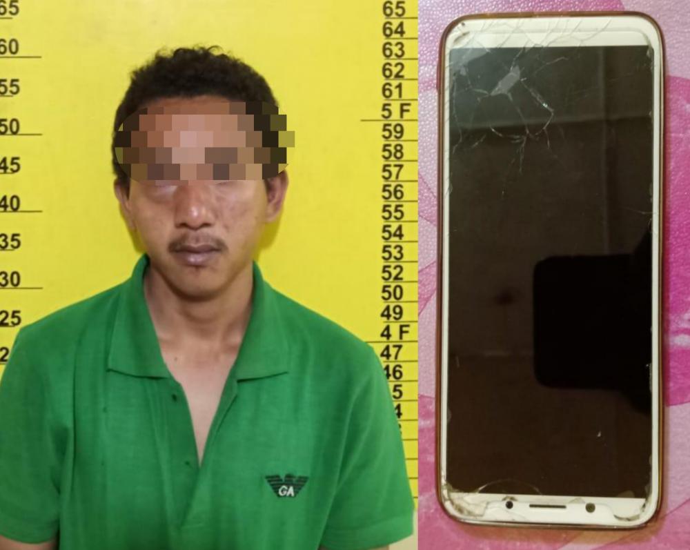 Curi Handphone di KM 24 Balam, Begini Kondisi Pria ini Usai Dimassa