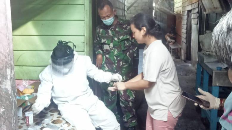 Puskesmas Bagan Batu Rapid Test Para Pedagang Pajak Lama Bagan Batu