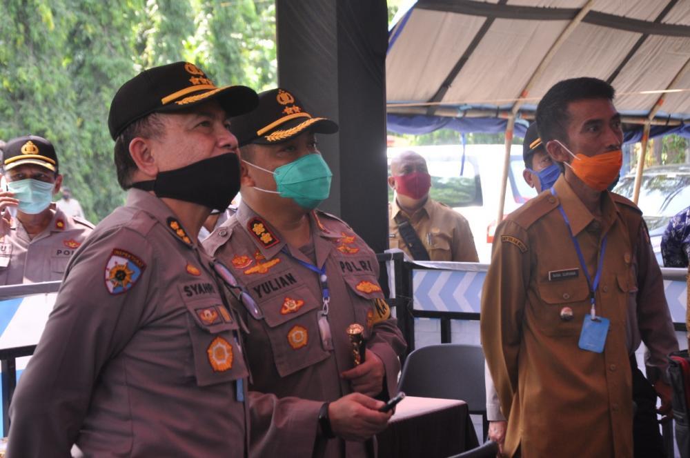 PSBB Seluruh Kab/Kota di Propinsi Jawa Barat Menghitung  Jam,Posko Di 9 Pintu Masuk Kota Banjar Siap Dimaksimalkan