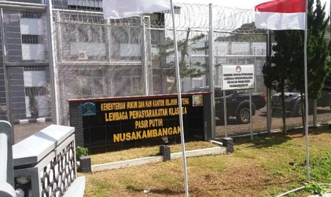 Habib Bahar Bin Smith Ditahan Di Lapas Batu Nusakambangan