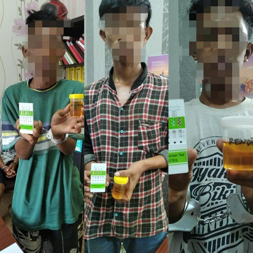 Empat Kali Beraksi, Reskrim Polsek Bangko Berhasil Bekuk Komplotan Curas di Rohil