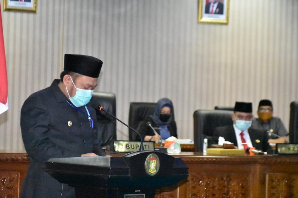 Sampaikan LKPJ 2019, Bupati Kampar ; Siap Jadikan Kampar Lebih baik lagi.