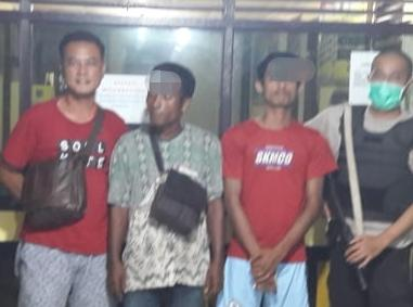 2 Pelaku Pengeroyokan Yang Habisi Nyawa Korbannya Berhasil Ditangkap Polsek Siak Hulu