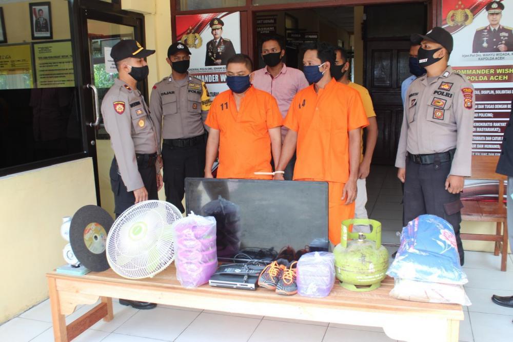 Polisi Ciduk Spesialis Pencuri dimalam Hari Di Bulan Ramdhan
