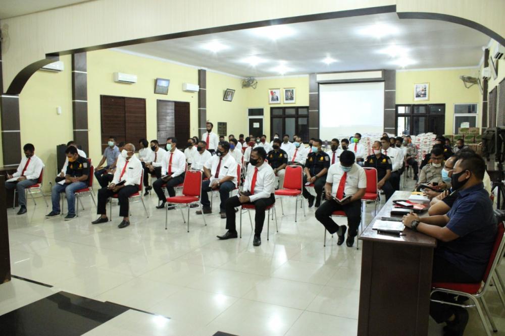 Polres Sergai Gelar Pelatihan Kepolisian Reskrim, Narkoba dan Intelkam