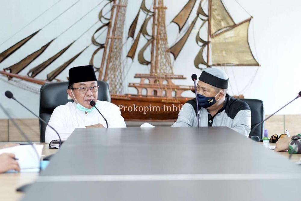 HM Wardan Rencana Pemberlakuan  Pelaksanaan PSBB Di Kab Inhil Masih Dipertimbangkan