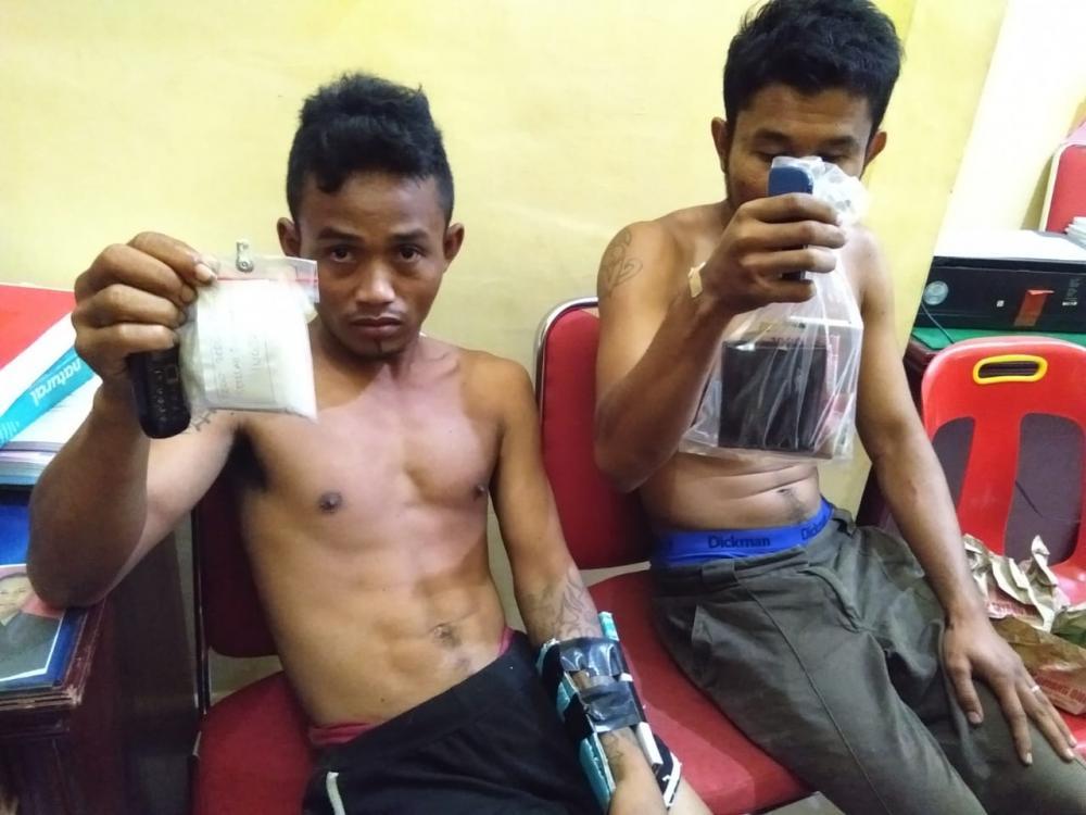 Bawa 153,72 Gram Sabu, Warga Tebing Tinggi  Diamankan Polisi Setelah Mengalami Kecelakaan