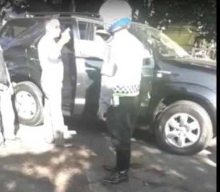 Oknum Polisi Bripka Hi Yang Ditegur Petugas PSBB Marah Marah Tak Pakai Masker Kini Berurusan Dengan Propam
