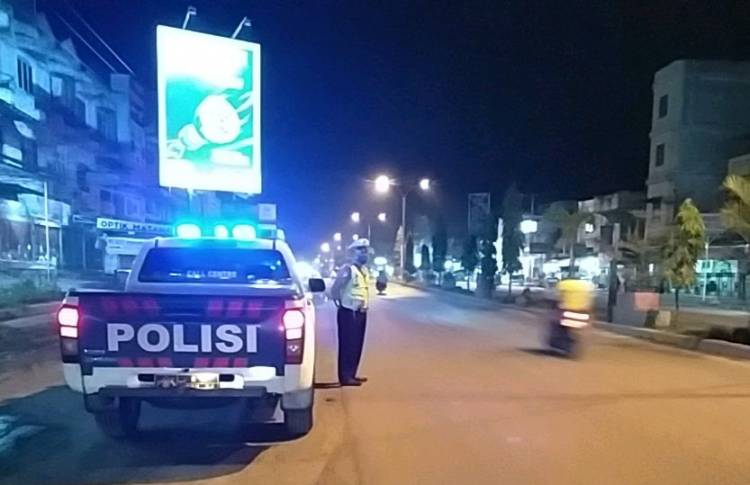 Unit Lantas Polsek Bagan Sinembah Lakukan Upaya Preemtif Dalam Antisipasi Bali