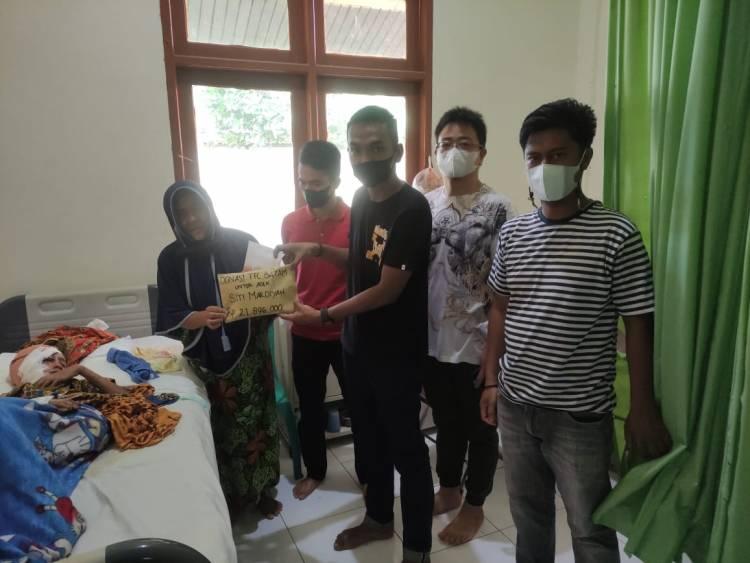 Peduli Siti Mardiah Korban As Pompong,Pecinta Cupang Inhil Berhasil Kumpulkan Dana Sebesar RP.37.046.000*